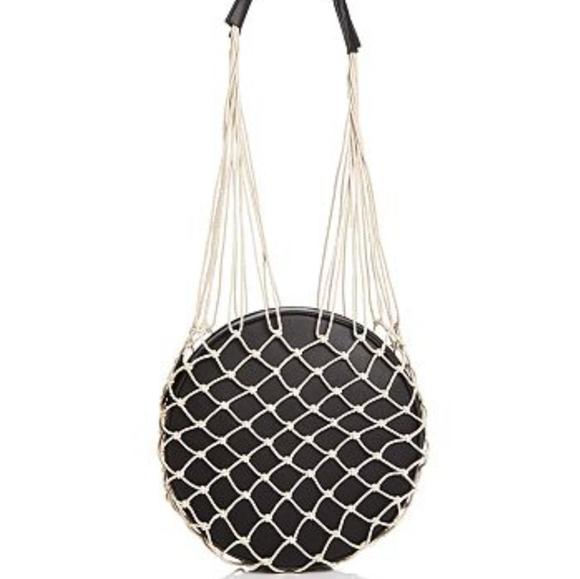 Bloomingdale's Handbags - Woven Round Shoulder Bag